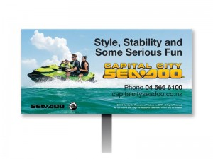 Capital City Seadoo Billboard